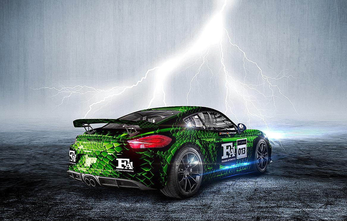 Porsche GT4 Car Design